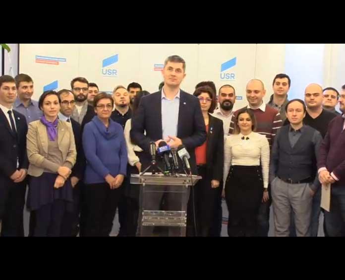 VIDEO // USR și-a ales candidații la alegerile europarlamentare din 2019