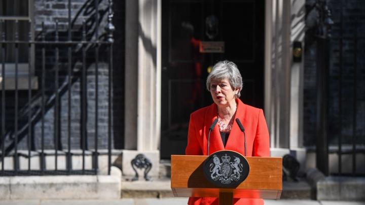 VIDEO // Theresa May și-a anunțat demisia, pe fondul eșecului privind acordul Brexit: A fost onoarea vieții mele să fiu a doua femeie premier a Marii Britanii